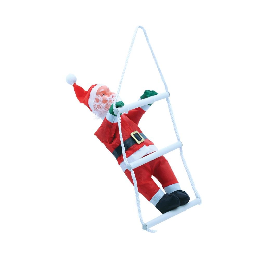 Papai Noel Magizi na Escada 25cm 16735